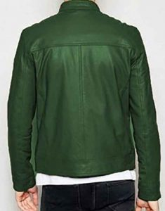 Henry Annette 2021 Adam Driver Leather Jacket