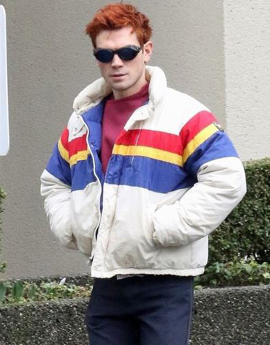 KJ Apa Puffer Jacket