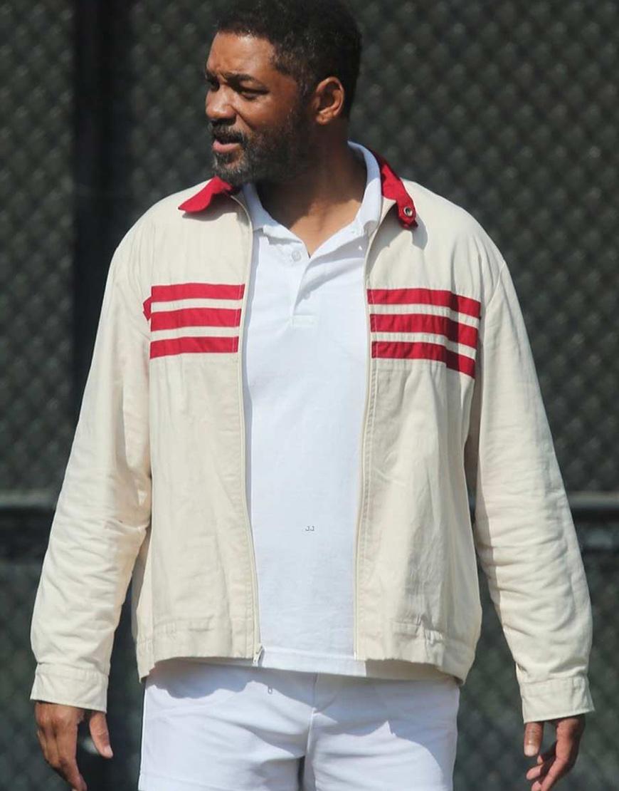 King Richard 2021 Richard Williams Will Cotton Jacket