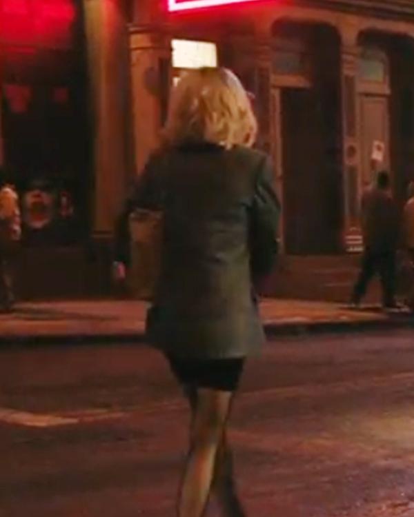 Lindy Jolt 2021 Kate Beckinsale Brown Blazer Coat For Women