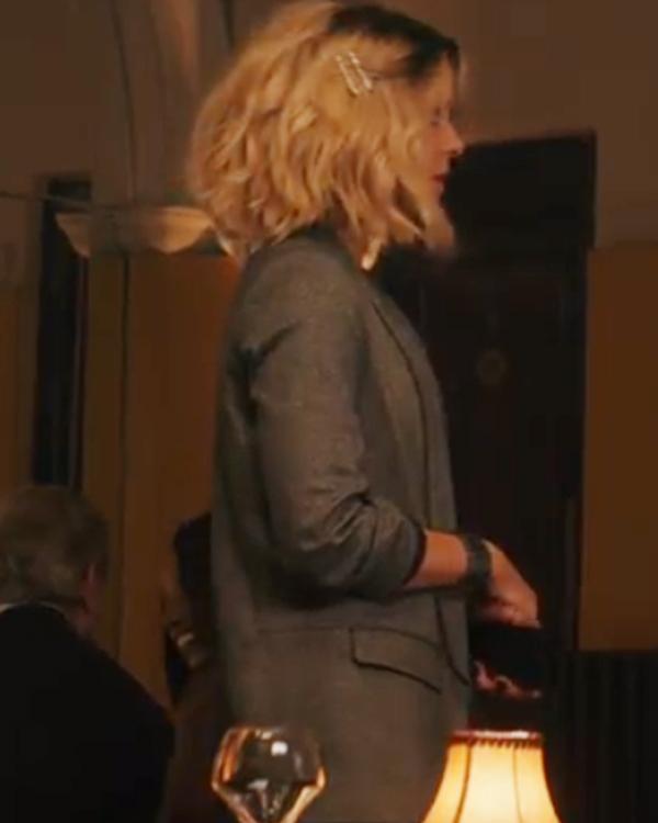 Lindy Jolt 2021 Kate Beckinsale Brown Coat For Women