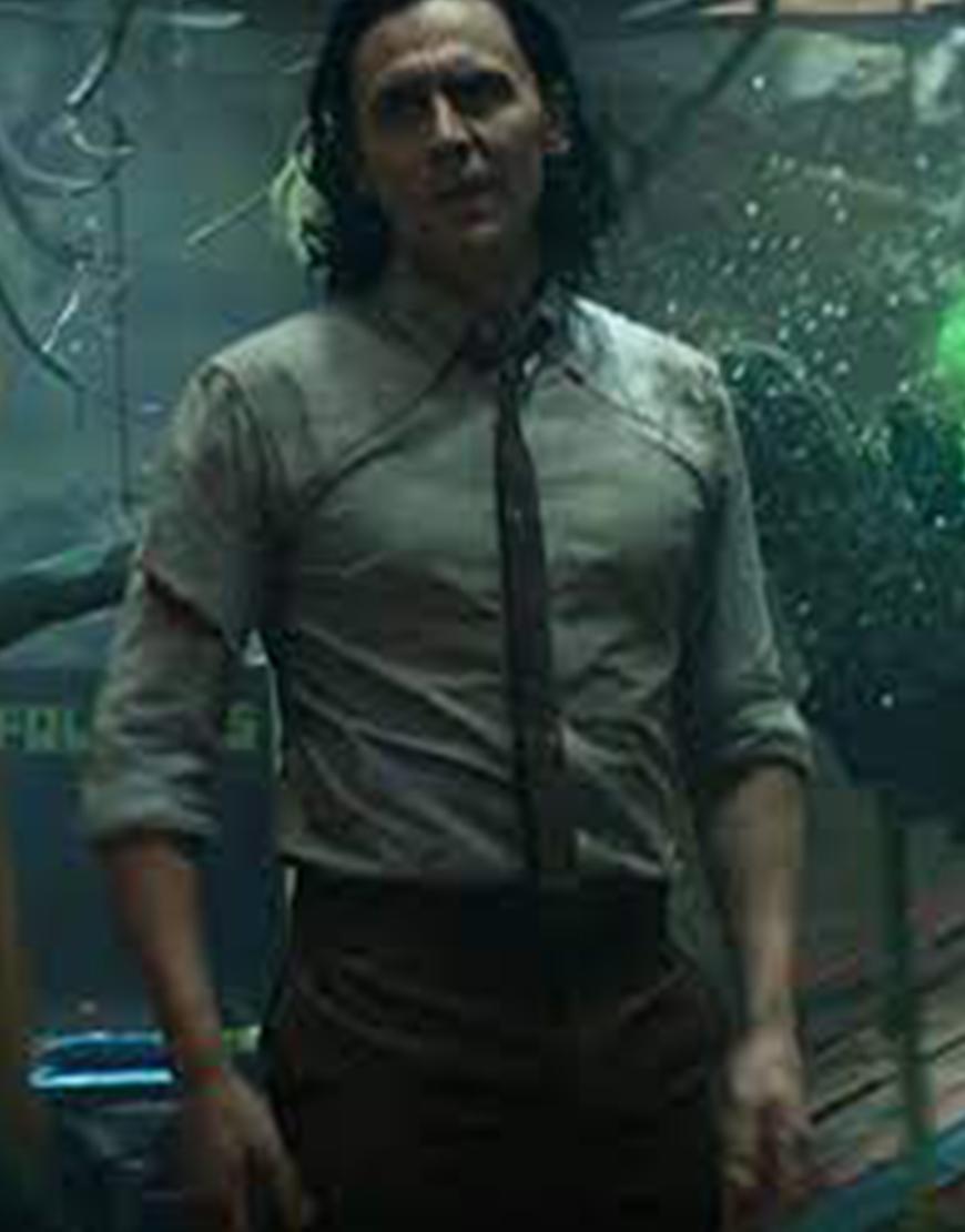 Loki TVA 2021 Tie And Shirt