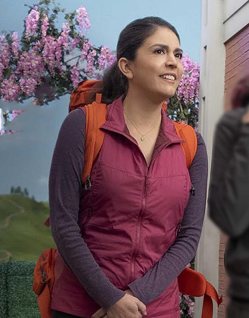 Melissa TV Series Schmigadoon! 2021 Cecily Strong Vest