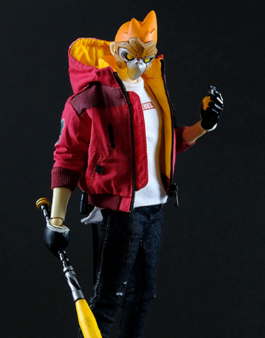 No Fear No Mercy Goku Maroon Jacket