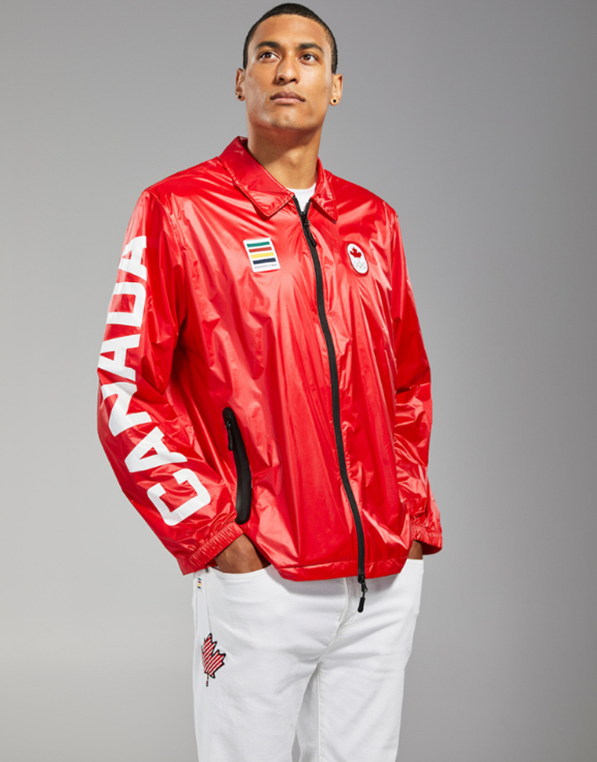 Olympic 2021 Red Canada Jacket