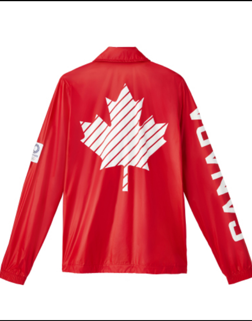 Olympic Red Canada Jacket