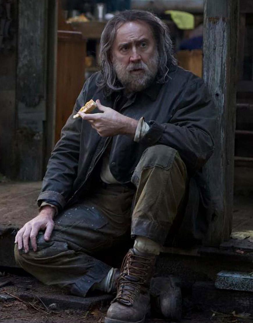 Rob Pig (2021) Nicolas Cage Cotton Coat