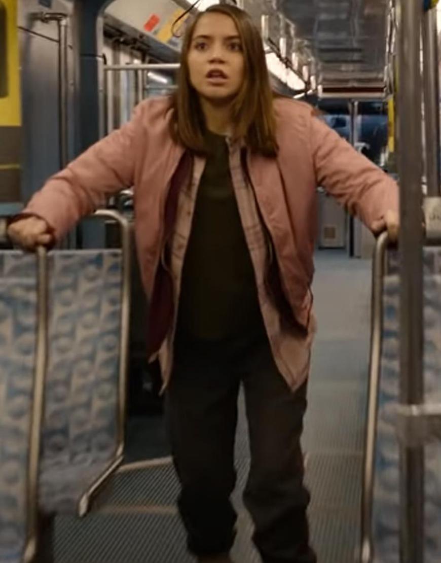 Sweet Girl 2021 Rachel Isabela Merced Pink Puffer Jacket