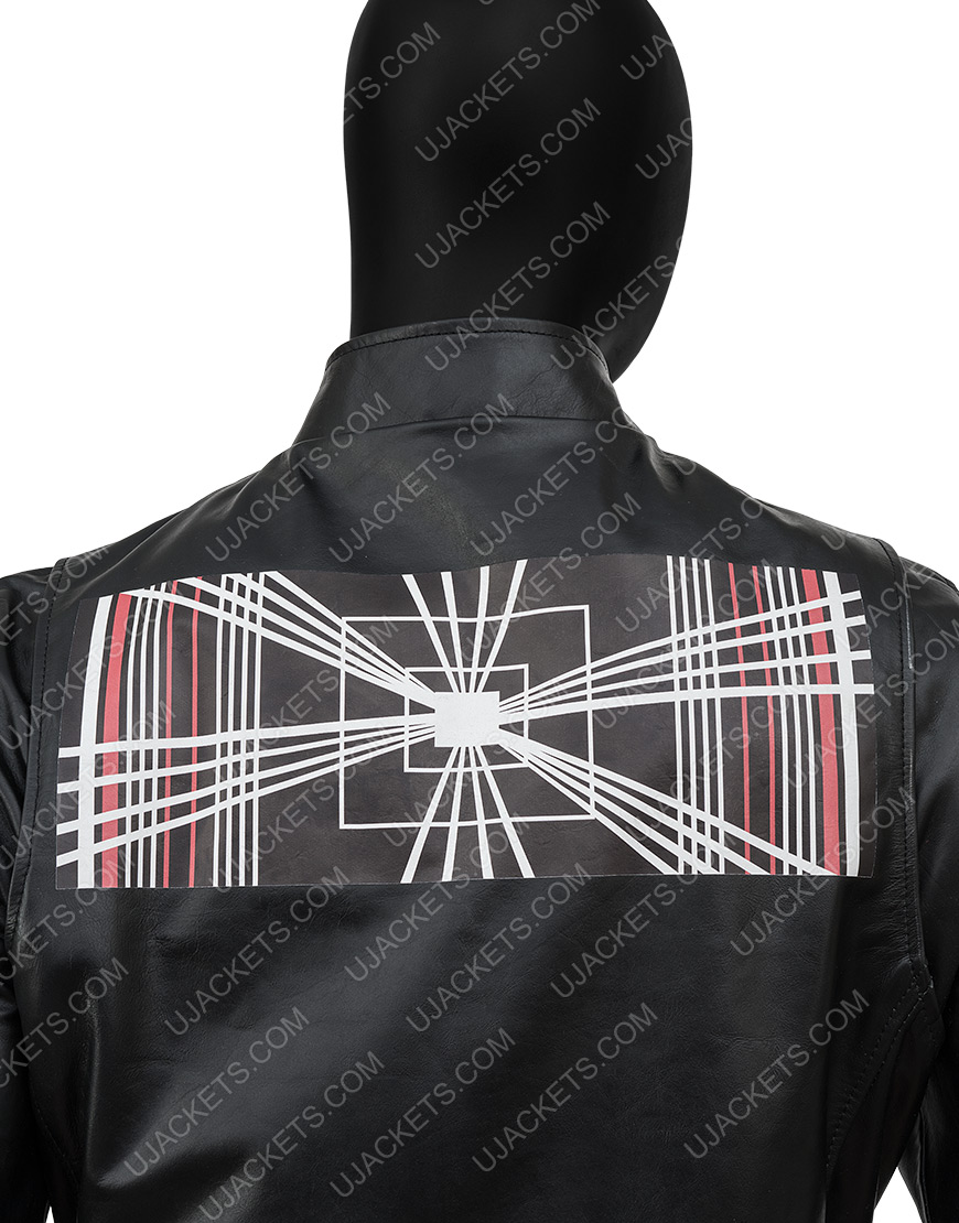 TeslaElon Musk Model S Plaid Delivery Event Leather Jacket