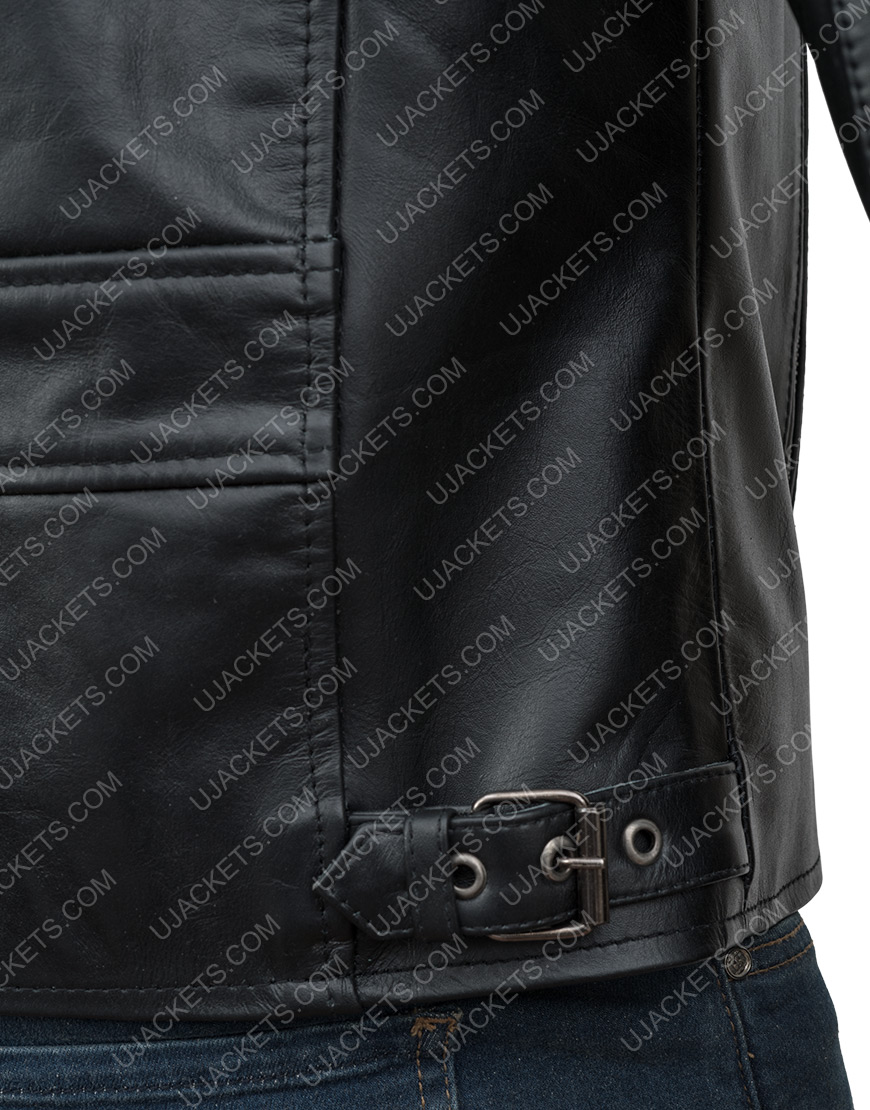TeslaElon Musk Model S Plaid Event Leather Jacket