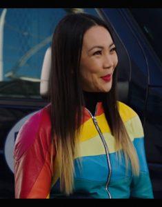 The Flash S07 Jona Xiao Rainbow Jacket