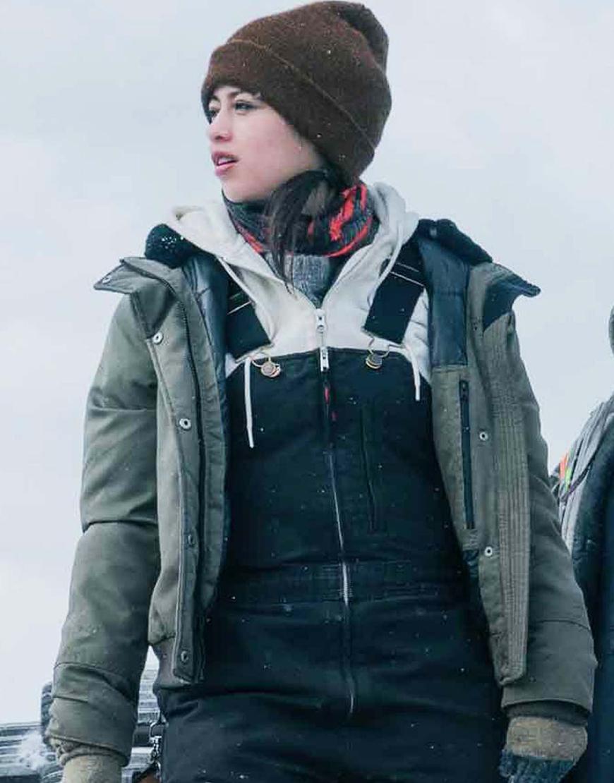 The Ice Road 2021 Amber Midthunder Jacket