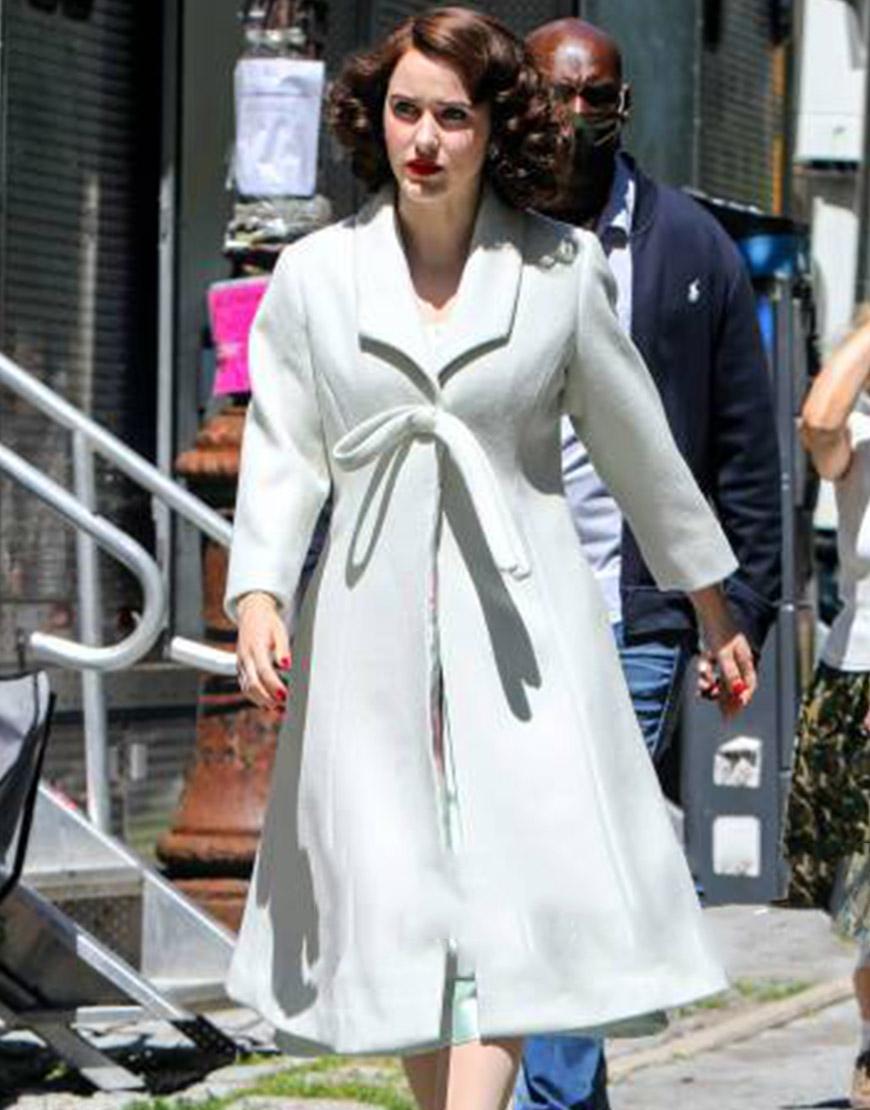 The Marvelous Mrs. Maisel Rachel Brosnahan White Coat