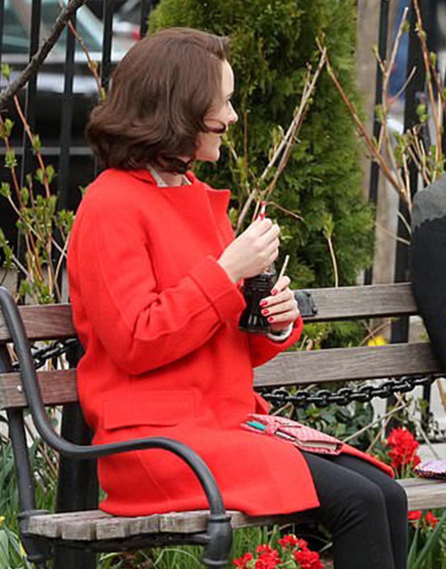The Marvelous Mrs. Maisel TV-Series S04 Rachel Brosnahan Red Coat