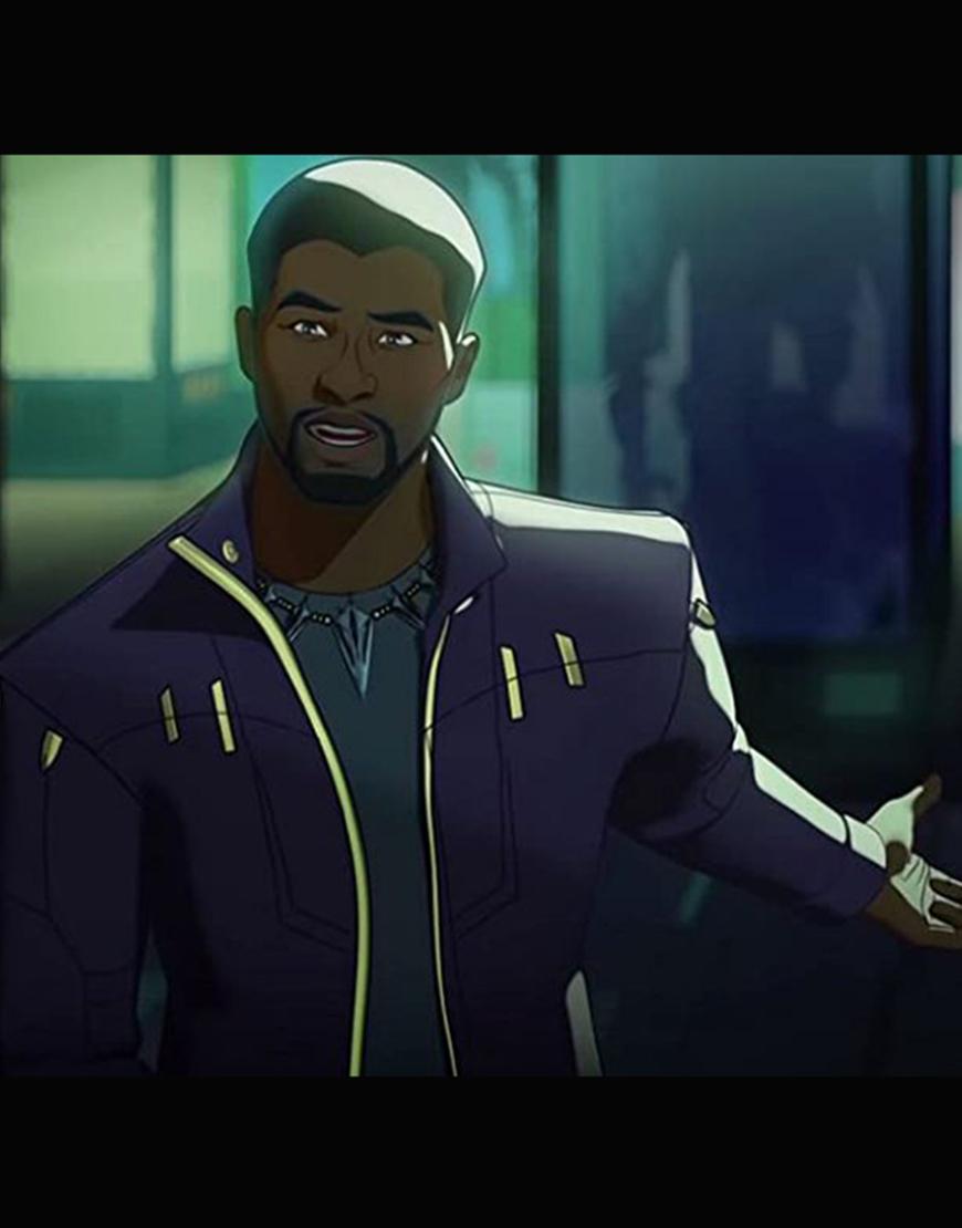 What If… 2021 Chadwick Boseman Jacket