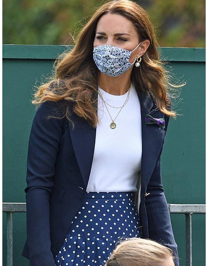 Wimbledon 2021 Kate Middleton Blue Women's Blazer