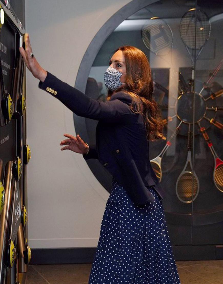 Wimbledon Tournament 2021 Kate Middleton Blazer