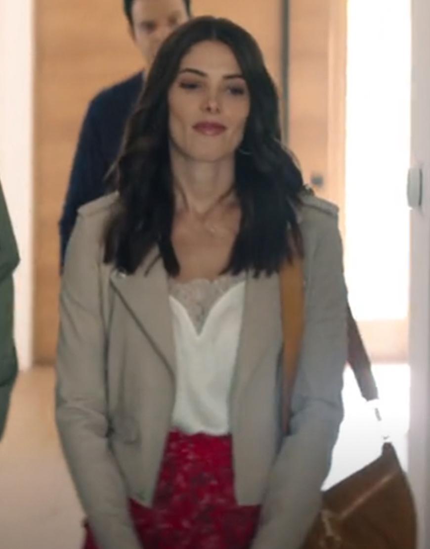 Aftermath 2021 Ashley Greene Grey Jacket