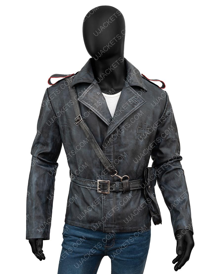 Battlefield 5 Game Peter Müller Brown Leather Jacket