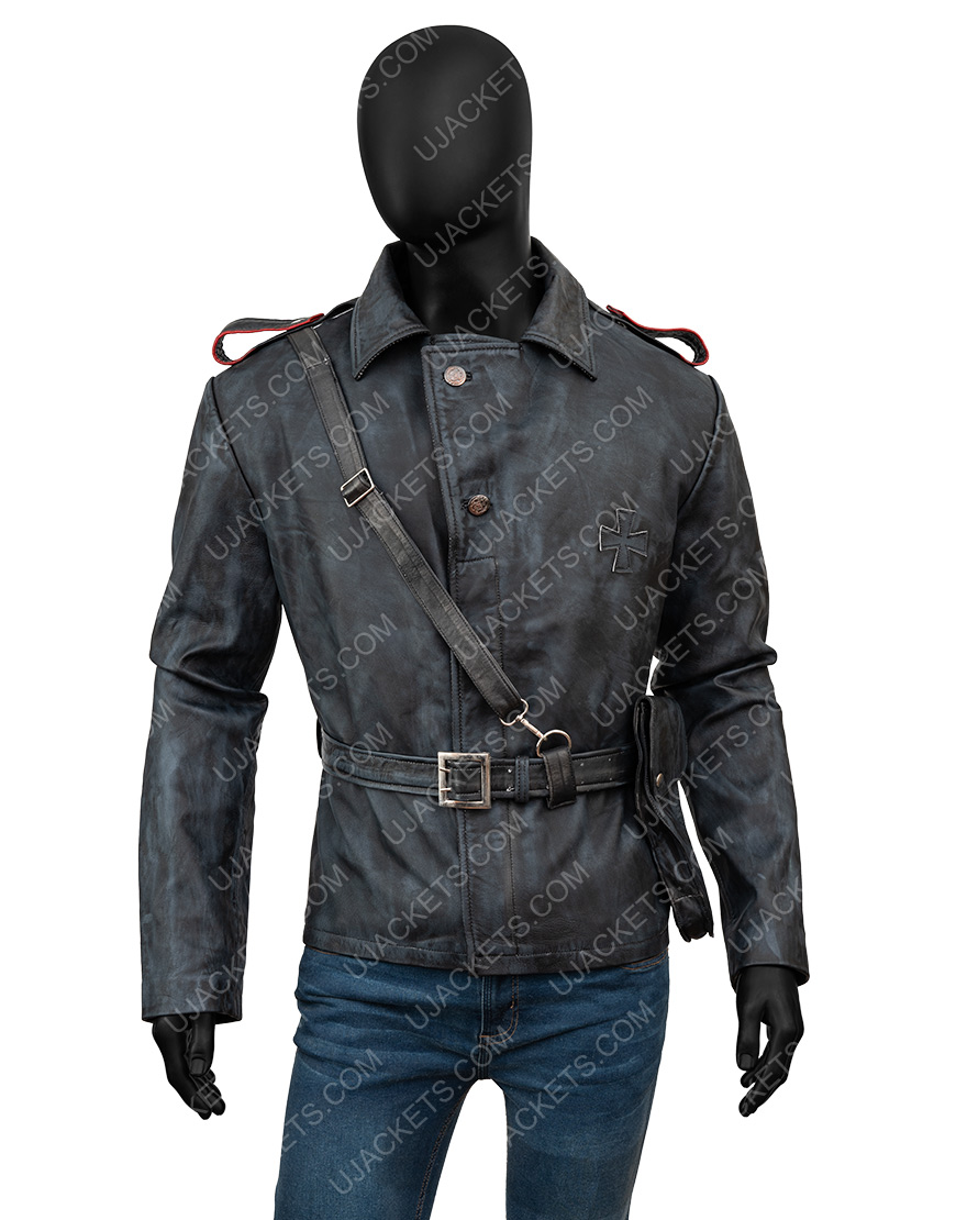 Battlefield 5 Video Game Peter Müller Brown Leather Jacket