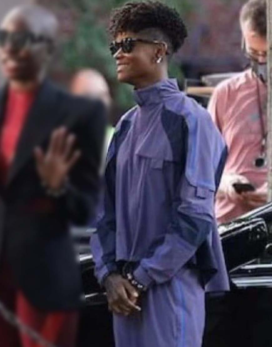 Black Panther Wakanda Forever 2022 Letitia Wright Jacket