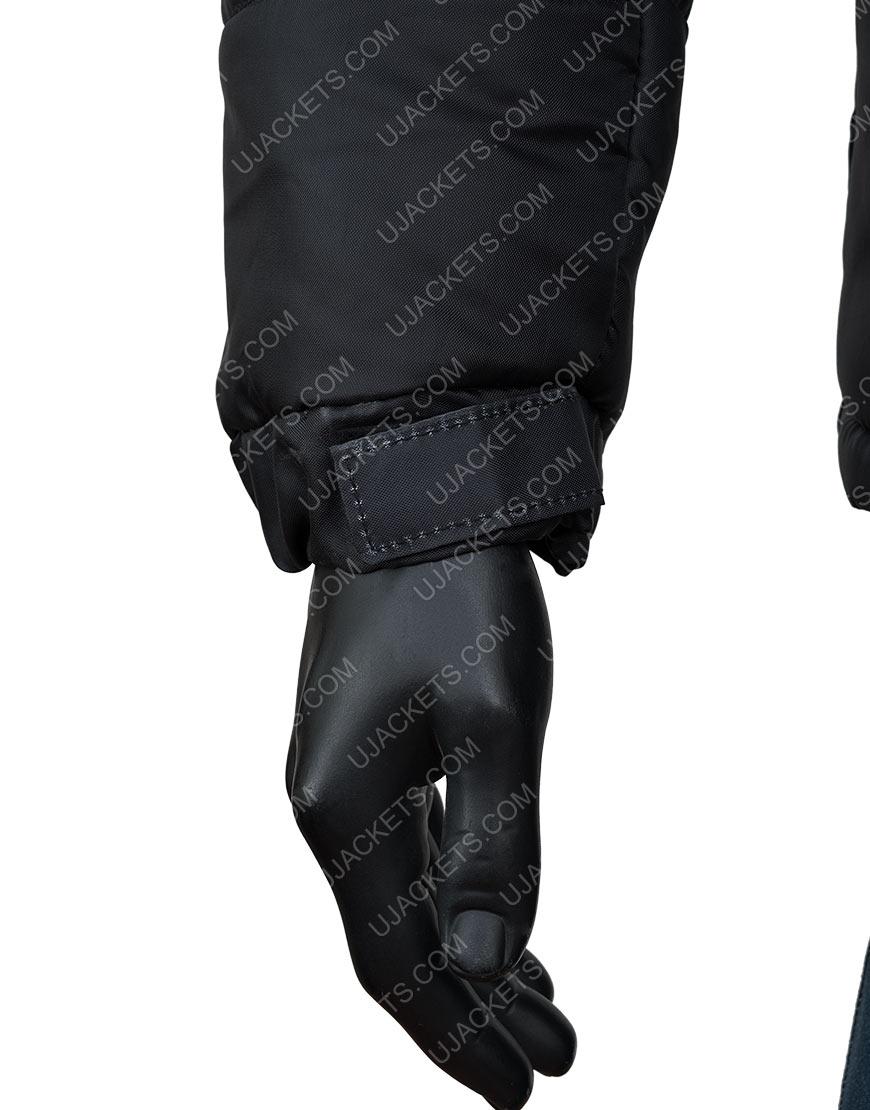 Black Printed Naruto Akatsuki Jacket