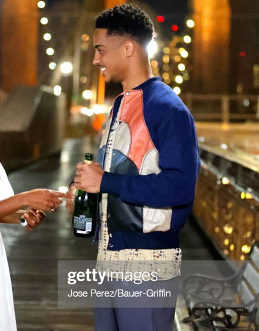 Eric The Perfect Find 2021 Keith Powers Tri-Color Jacket