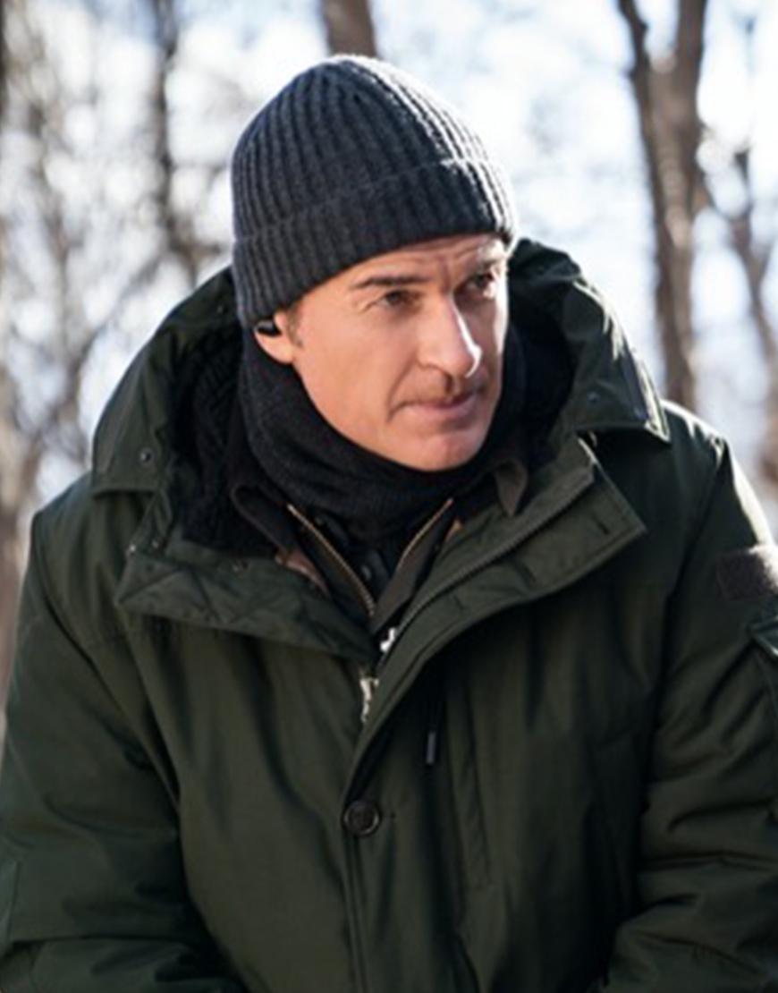 FBI Most Wanted S03 Julian McMahon Green Jacket