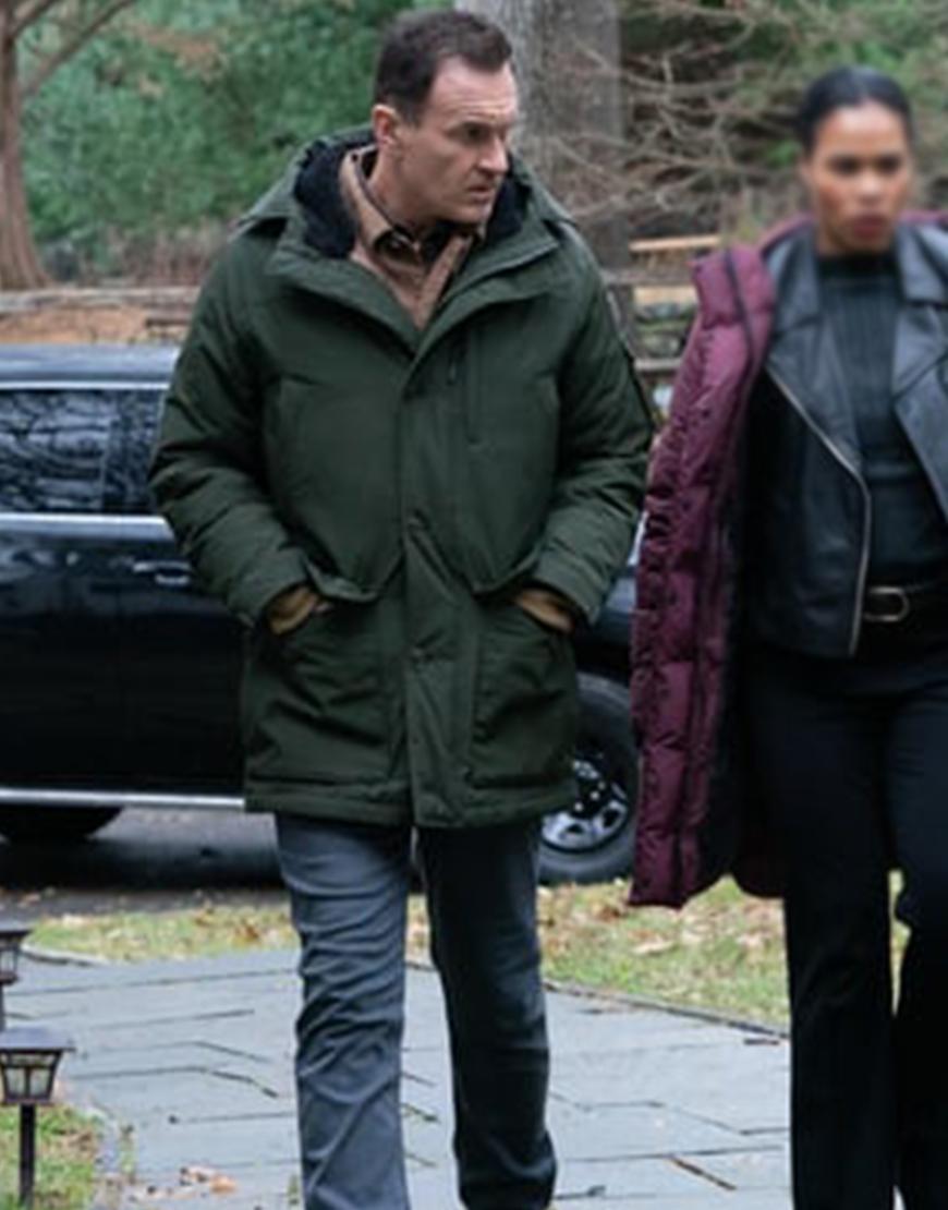 FBI Most Wanted S03 Julian McMahon Puffer Jacket