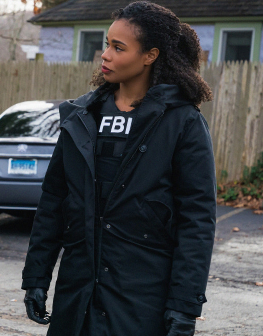 FBI Most Wanted S03 Roxy Sternberg Puffer Black Coat