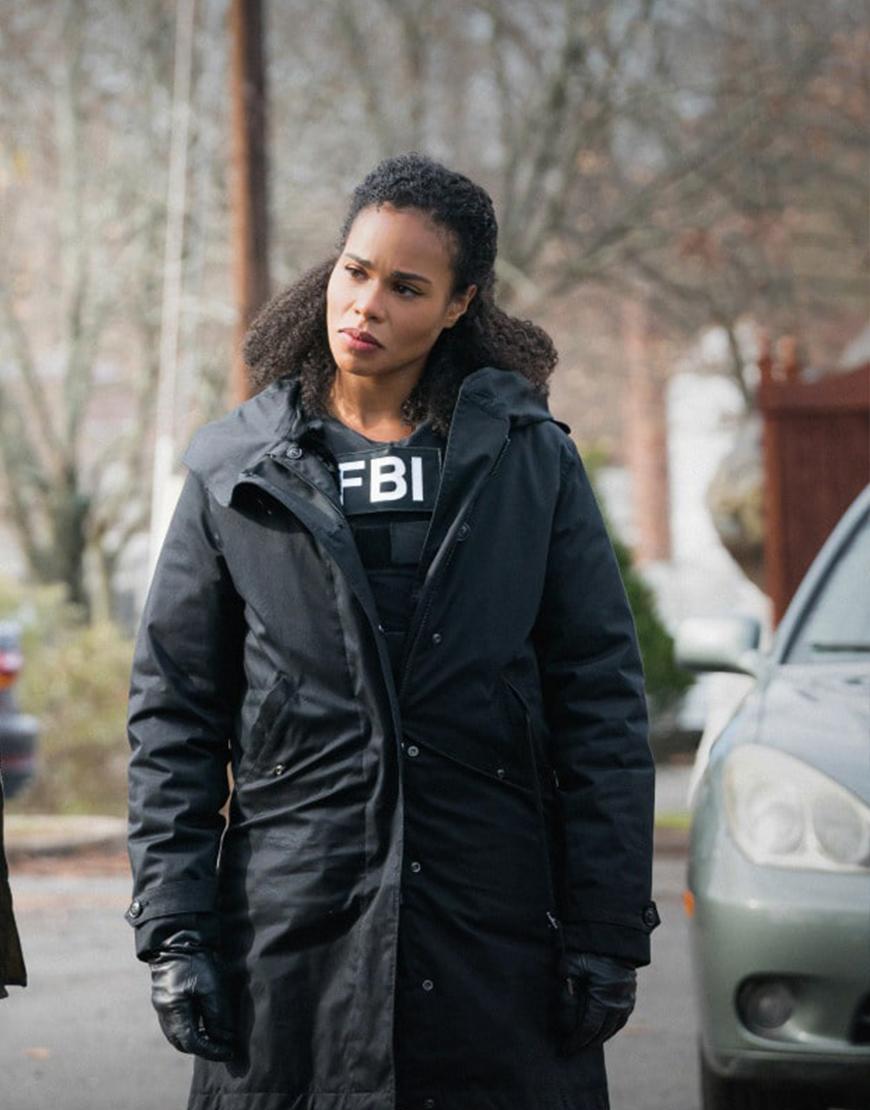 FBI Most Wanted S03 Roxy Sternberg Puffer Coat