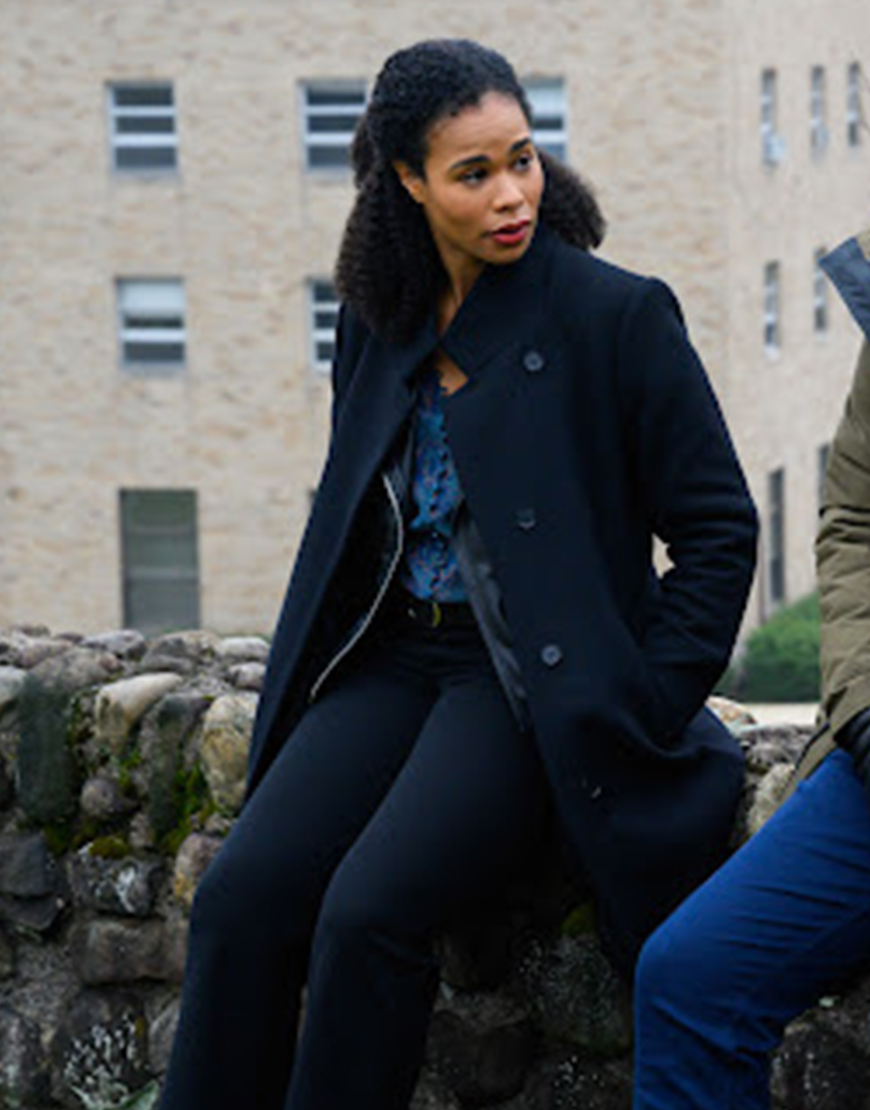 FBI Most Wanted S03 Roxy Sternberg Trench Coat