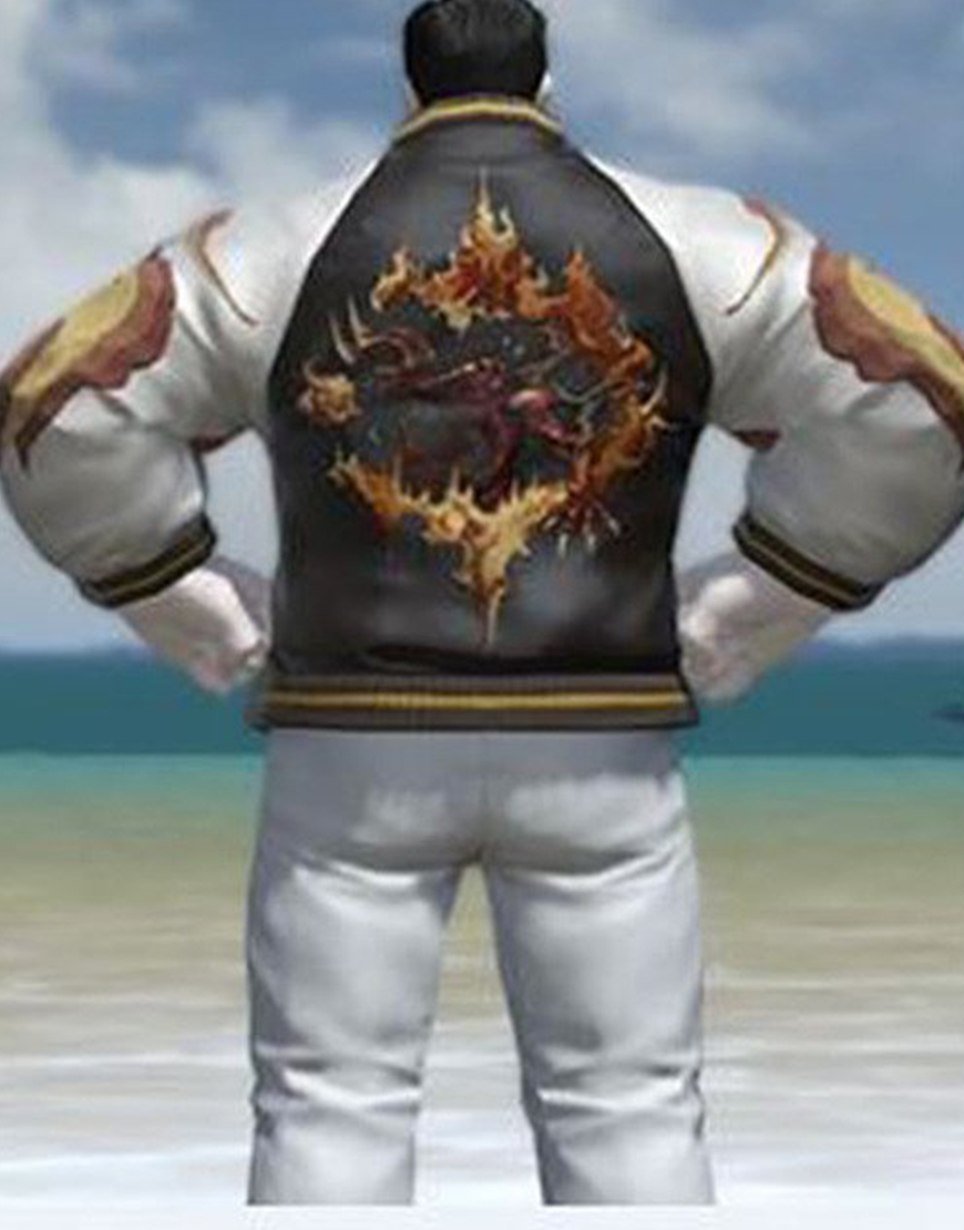 Final Fantasy XIV Inferno Leather Jacket