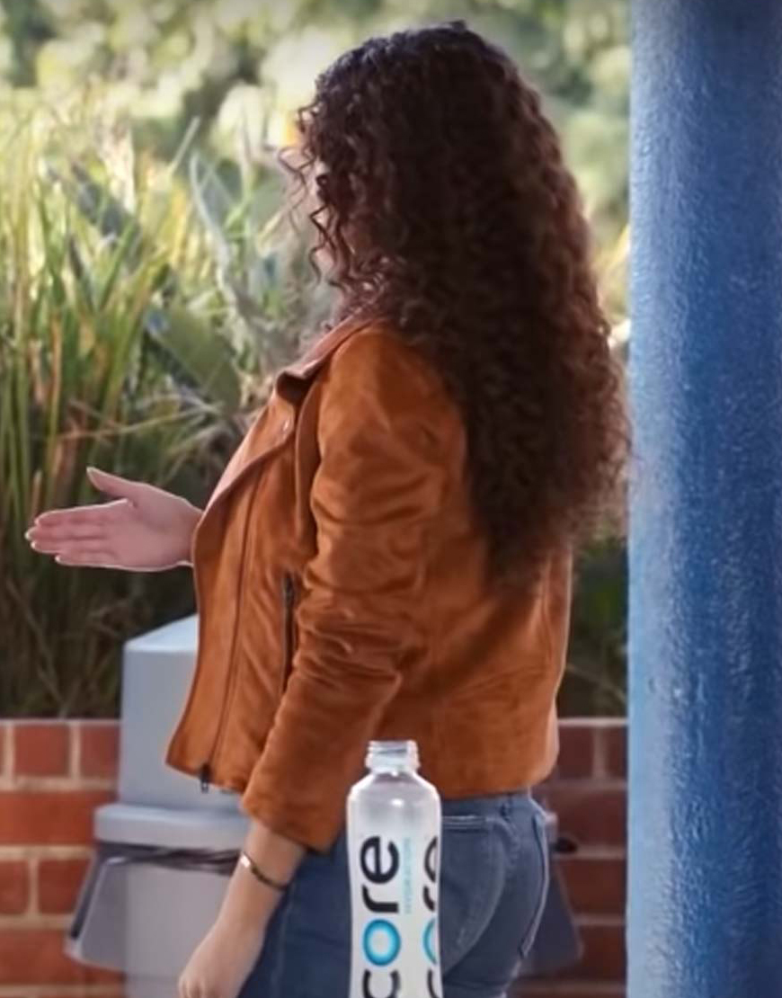 He's All That 2021 Madison Pettis Alden Suede Jacket