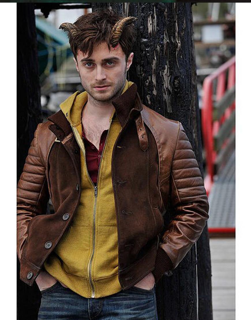 Horns Daniel Radcliffe Leather Jacket