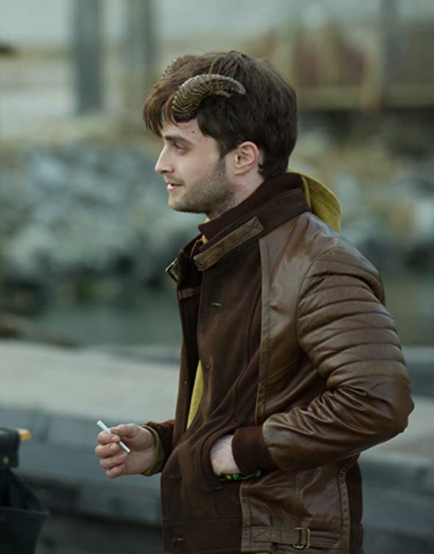 Horns IG Perrish Brown Leather Jacket