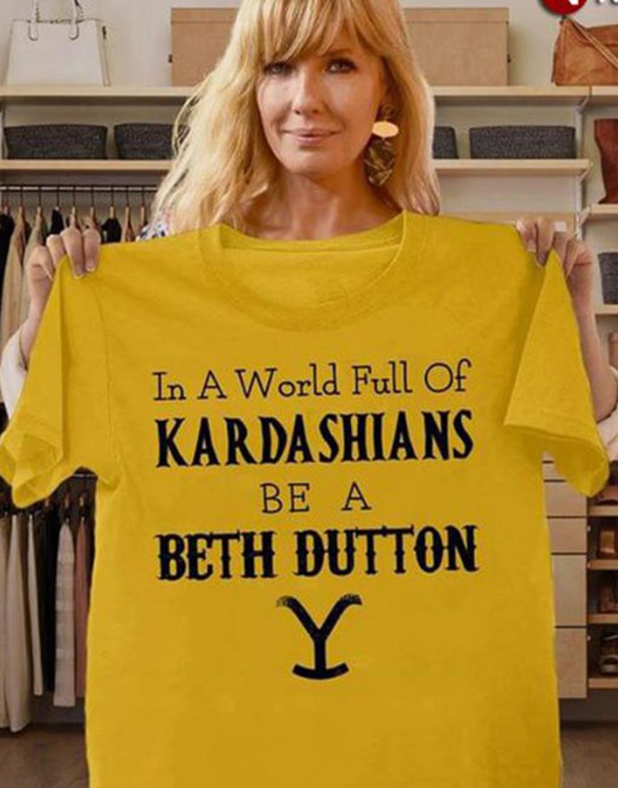 In the World Full off KaradarshIans Be Like Yellow Shirt