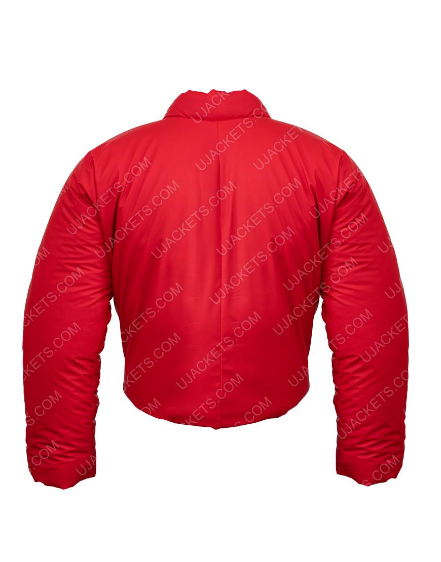 Kanye West DONDA Red Round Jacket