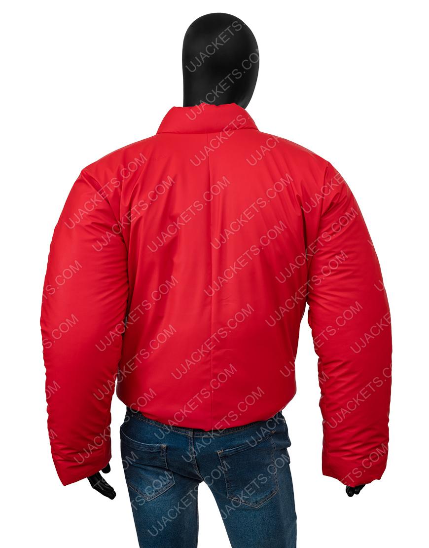 Kanye West DONDA Yezzy Gap Red Jacket