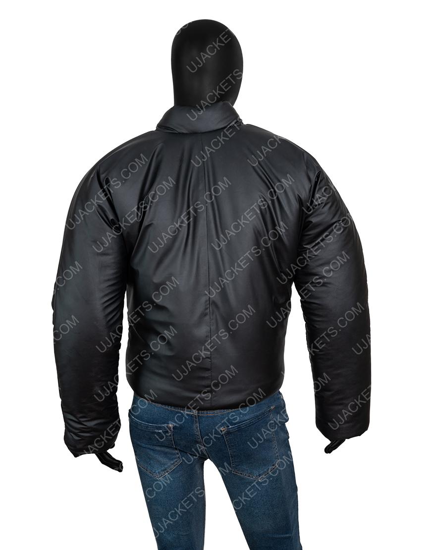 Kanye West Round Yeezy Gap Black Jacket