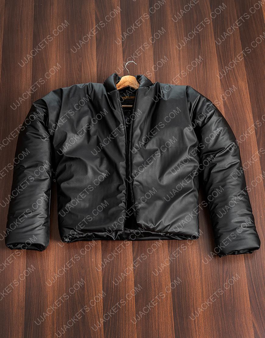 Kanye West Yeezy Gap 2021 Black Round Jacket