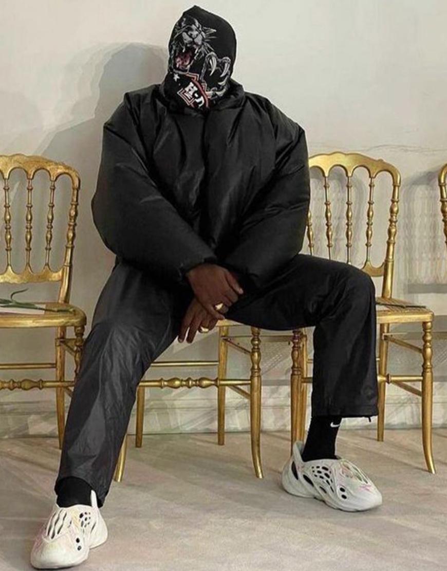 Kanye West Yeezy Gap Black Jacket