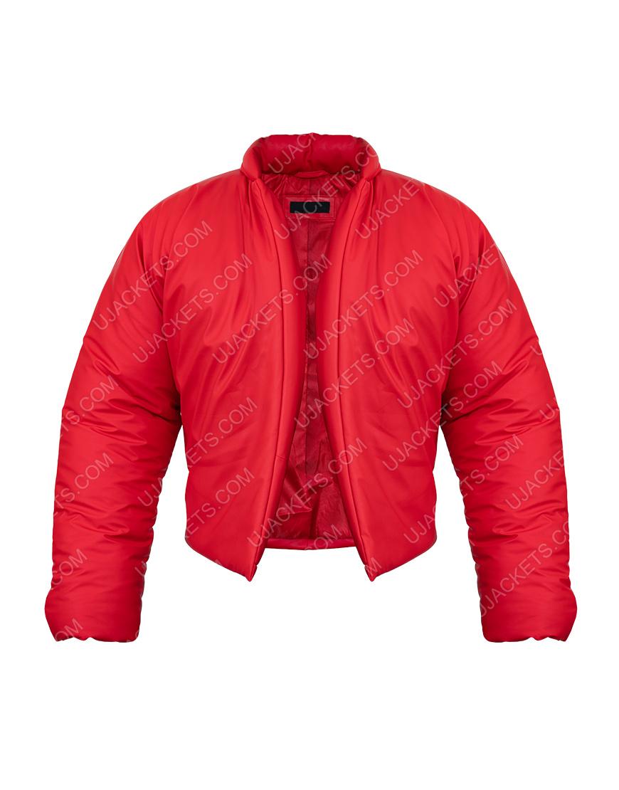 Kanye West Yezzy Gap Red Round Jacket