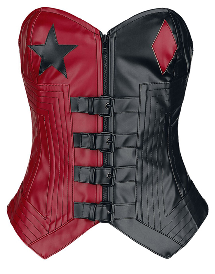 Margot Robbie The Suicide Squad 2021 Harley Quinn Cropped Vest