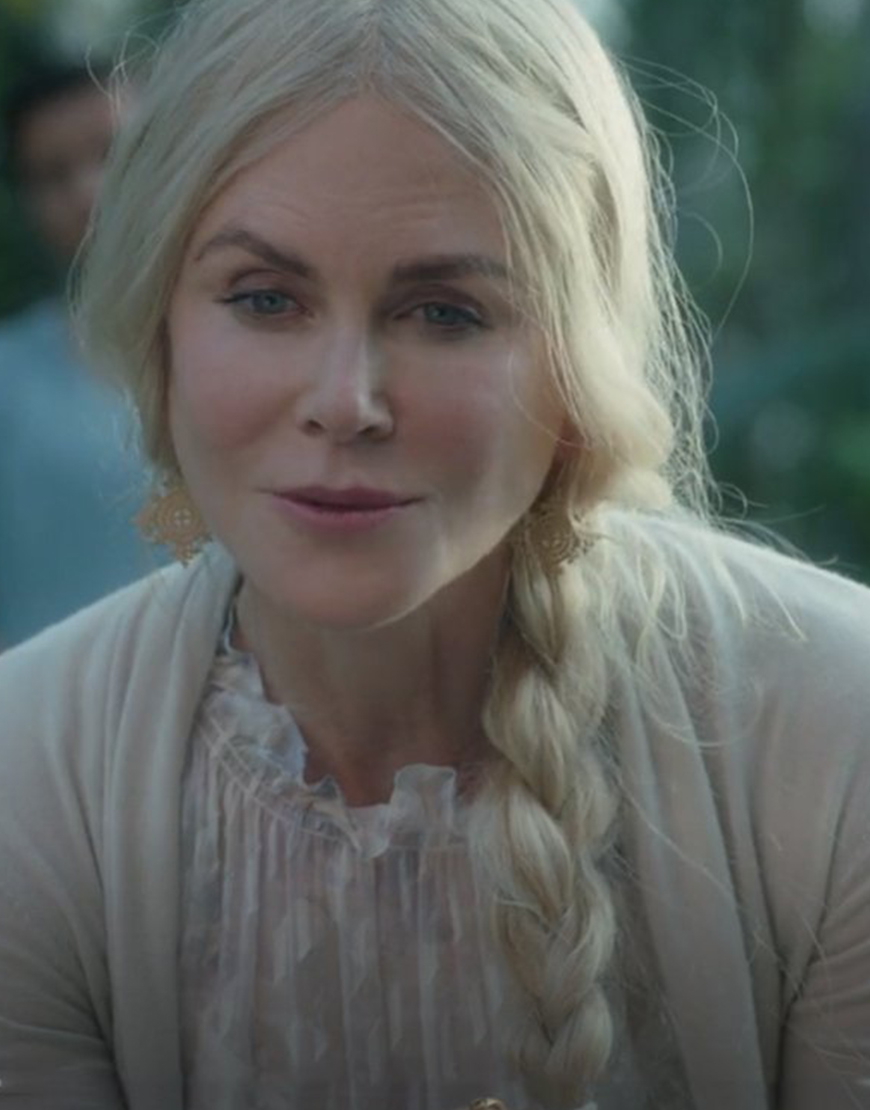 Masha Dmitrichenko TV-Series Nine Perfect Strangers Nicole Kidman Cardigan