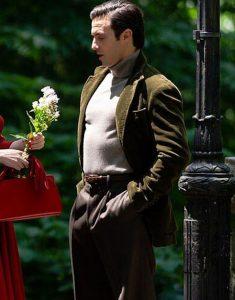 Milo Ventimiglia Brown Velvet TV Series The Marvelous Mrs. Maisel Blazer