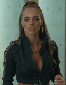 Nine Perfect Strangers 2021 Samara Weaving Track Jacket