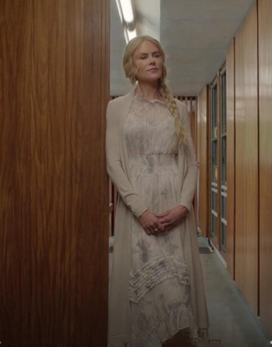 Nine Perfect Strangers Nicole Kidman Cardigan