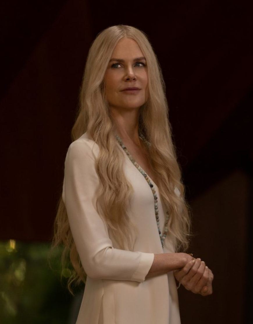 Nine Perfect Strangers Nicole Kidman White Dress