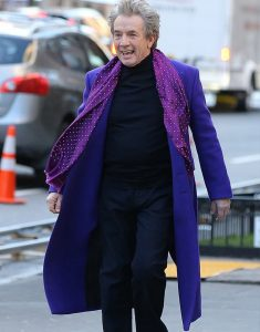 Only Murders In The Building Martin Short Coat